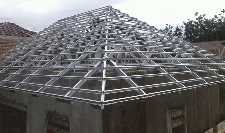 atap rumah galvalum