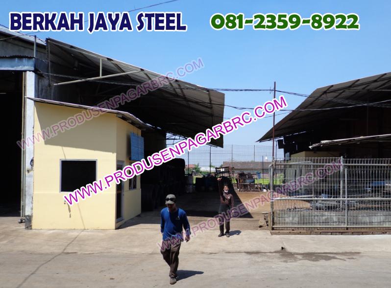 Lokasi Pabrik Pagar BRC sidoarjo dan surabaya